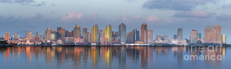 San Diego Sunset by Sandra Bronstein