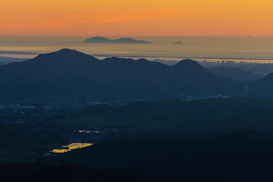 San Diego View From Iron Mountain by TM Schultze
