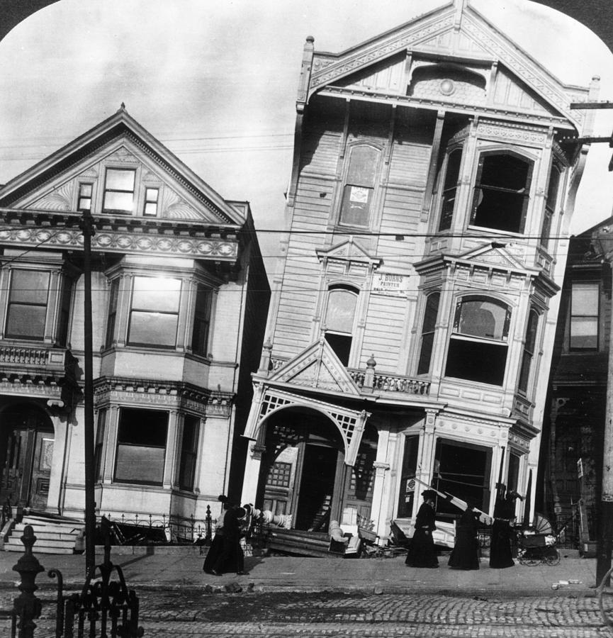 San Francisco 1906 Photograph by Hulton Archive