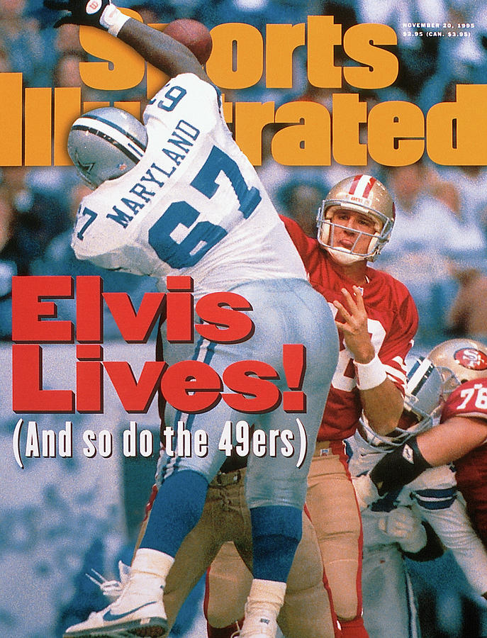 San Francisco 49ers Qb Elvis Grbac... Photograph by Sports Illustrated Cover