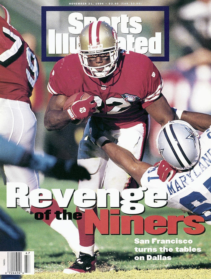 San Francisco 49ers Ricky Watters... Sports Illustrated Cover Photograph by Sports Illustrated