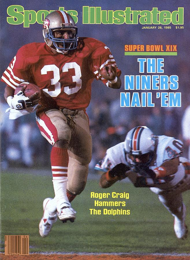 San Francisco 49ers Roger Craig, Super Bowl Xix Sports Illustrated Cover Photograph by Sports Illustrated