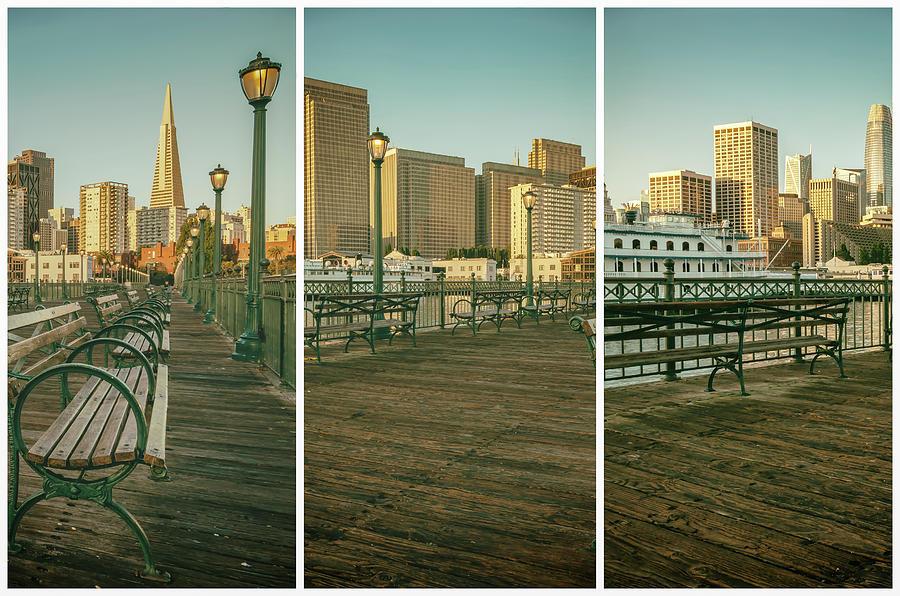 San Francisco at Pier 7 by Jonathan Nguyen