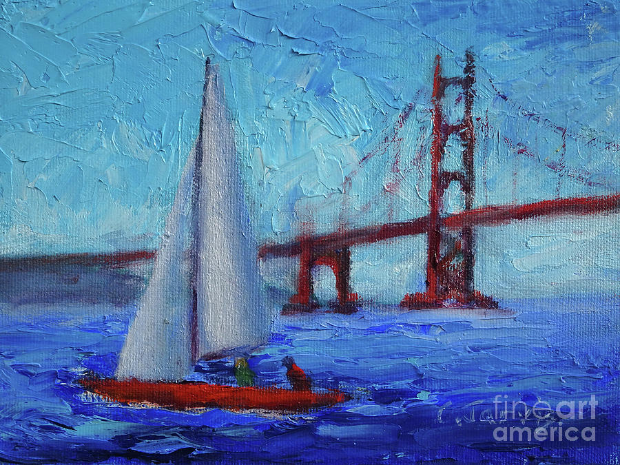 San Francisco Bay Breeze by Carolyn Jarvis