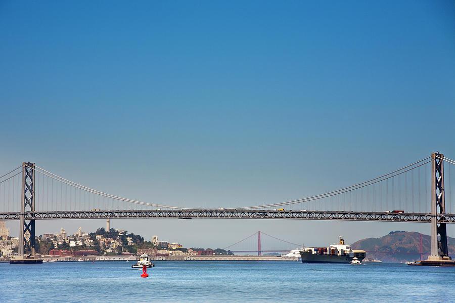 San Francisco Bay, California Photograph by Geri Lavrov