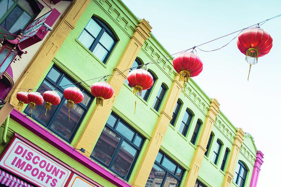 San Francisco Chinatown Colors by Sonja Quintero