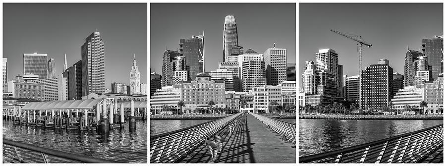 San Francisco Downtown triptych by Jonathan Nguyen