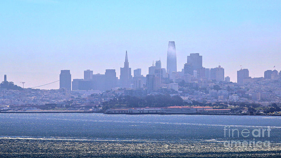 San Francisco From The Bay Photograph