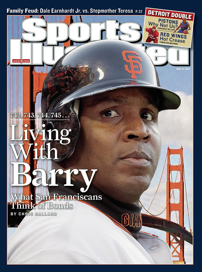 San Francisco Giants Barry Bonds Sports Illustrated Cover Photograph by Sports Illustrated