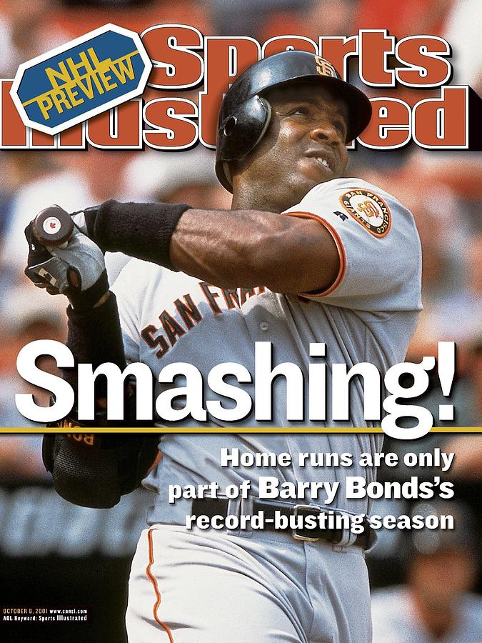 San Francisco Giants Barry Bonds... Sports Illustrated Cover Photograph by Sports Illustrated