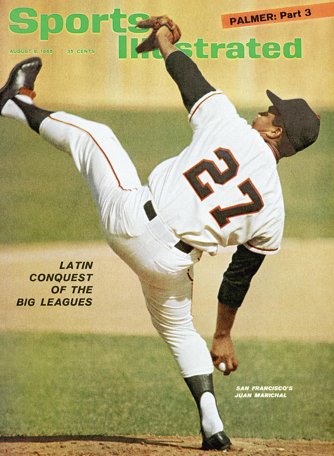 San Francisco Giants Juan Marichal Sports Illustrated Cover Photograph by Sports Illustrated