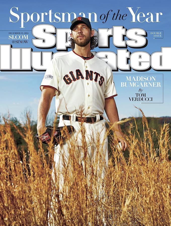 San Francisco Giants Madison Bumgarner, 2014 Sportsman Of Sports Illustrated Cover Photograph by Sports Illustrated