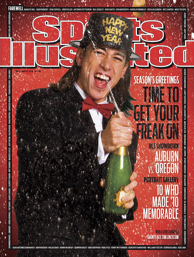 San Francisco Giants Tim Lincecum Sports Illustrated Cover Photograph by Sports Illustrated