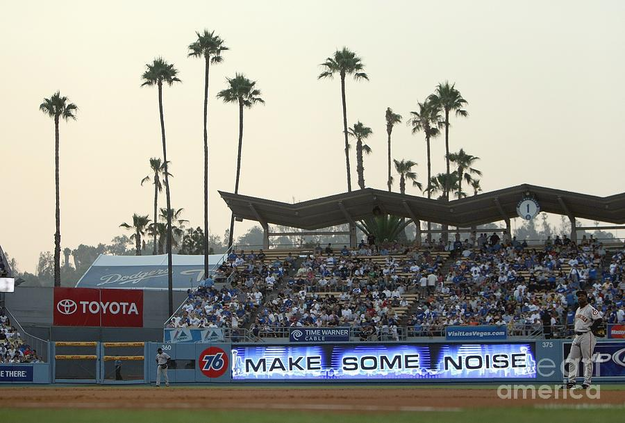 San Francisco Giants V Los Angeles Photograph by Jed Jacobsohn