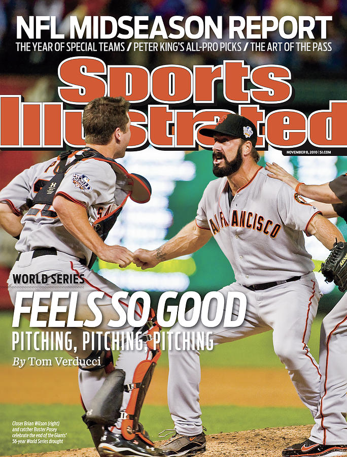 San Francisco Giants V Texas Rangers, Game 5 Sports Illustrated Cover Photograph by Sports Illustrated