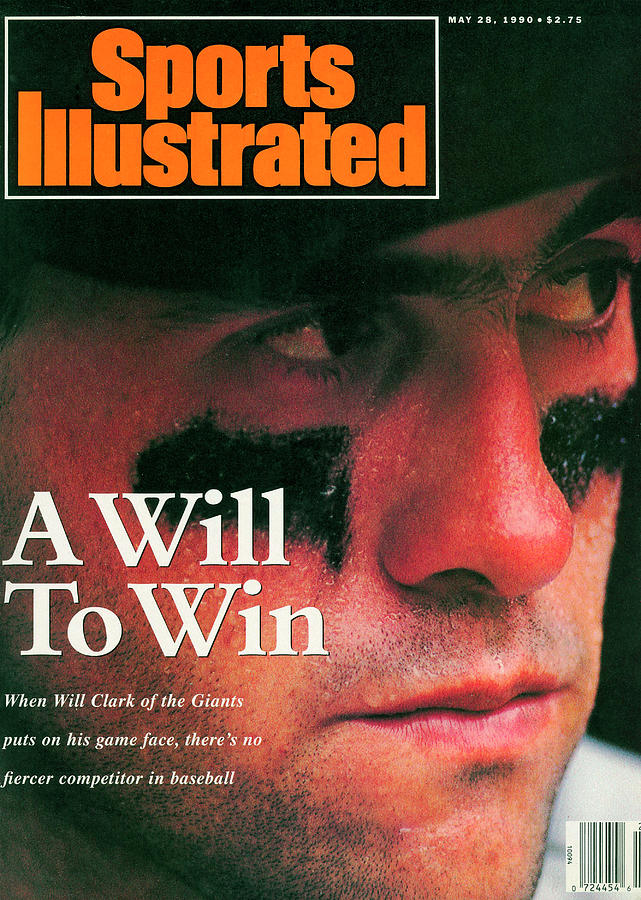 San Francisco Giants Will Clark Sports Illustrated Cover Photograph by Sports Illustrated