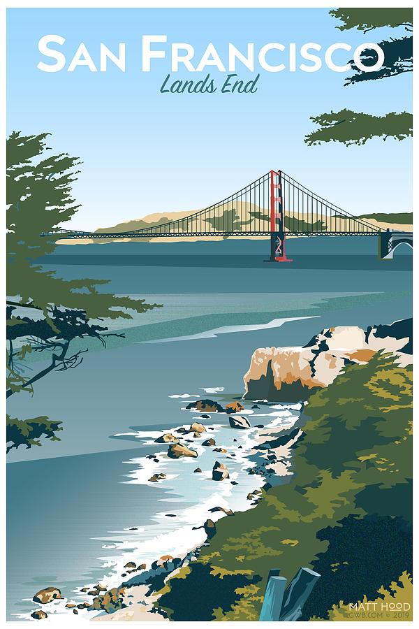 San Francisco Lands End by Matt Hood