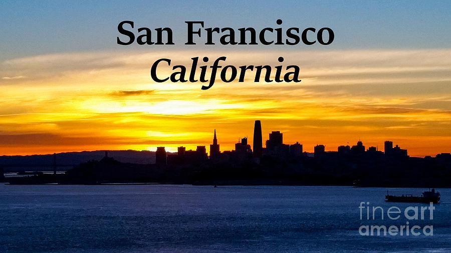 San Francisco Photograph - San Francisco Sunrise 16x9 by G Matthew Laughton