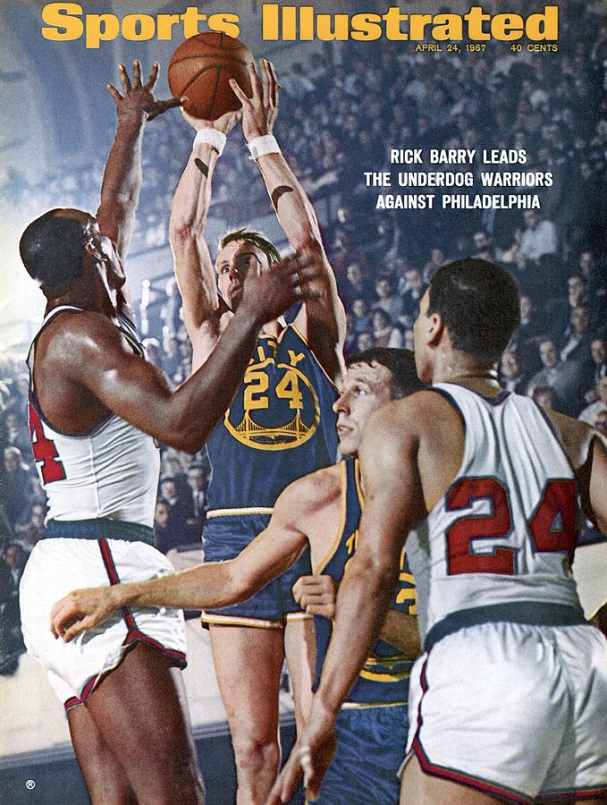 San Francisco Warriors Rick Barry, 1967 Nba Finals Sports Illustrated Cover Photograph by Sports Illustrated