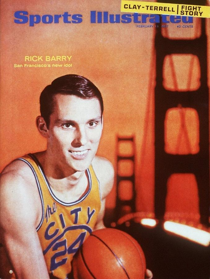 San Francisco Warriors Rick Barry Sports Illustrated Cover Photograph by Sports Illustrated