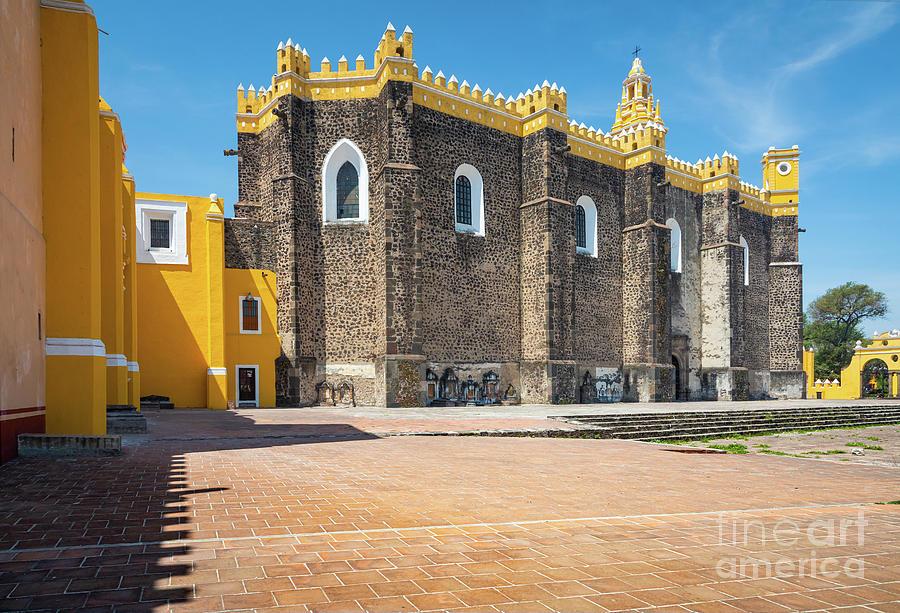 Catholic Photograph - San Gabriel Puebla by Inge Johnsson