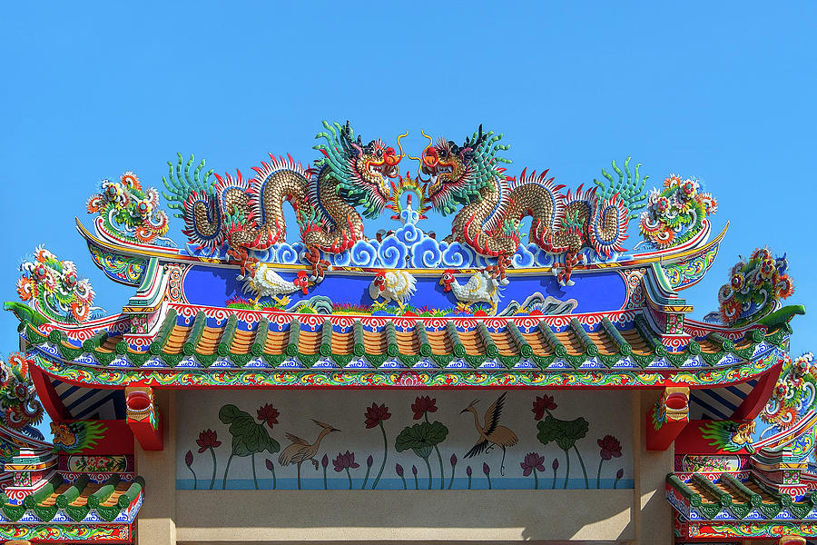 San Jao Phut Gong Dragon Gate DTHU0702 by Gerry Gantt