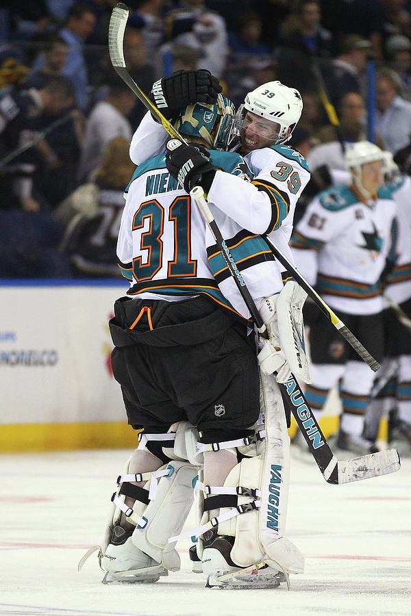 San Jose Sharks V St. Louis Blues - Photograph by Dilip Vishwanat