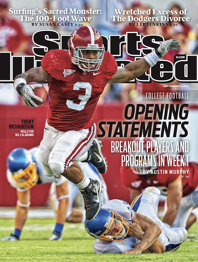 San Jose State V Alabama Sports Illustrated Cover Photograph by Sports Illustrated