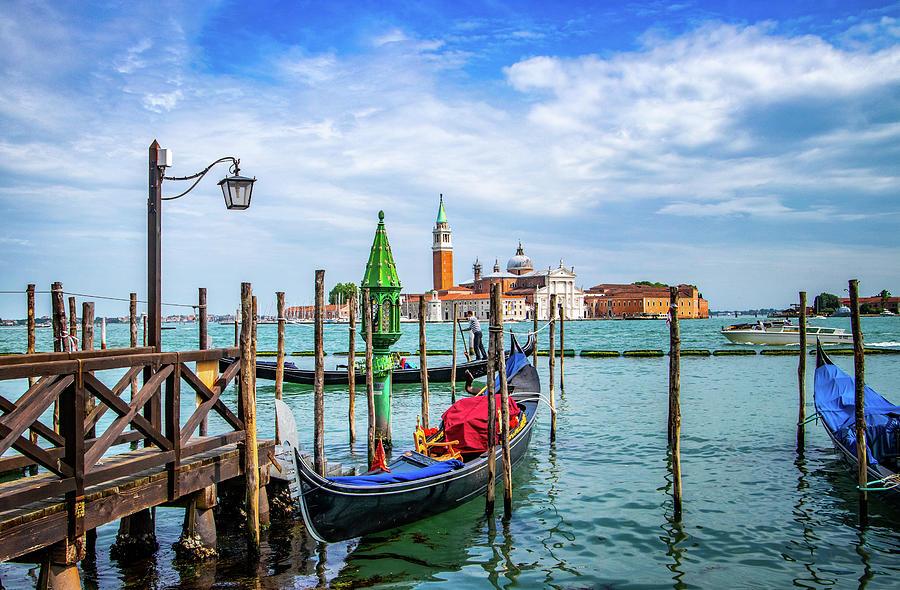 San Marco Basin Venice by Carolyn Derstine