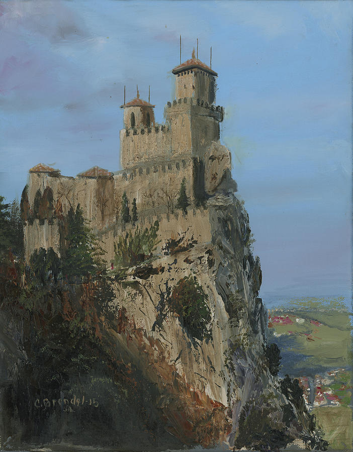 San Marino Castle  by Cecilia Brendel