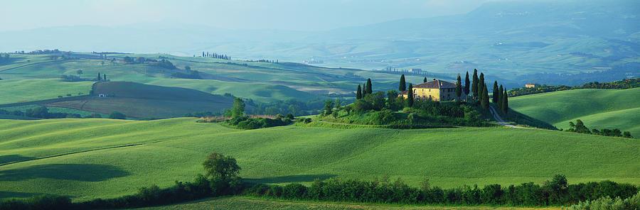 San Quirico Dorcia, Siena, Tuscany Photograph by Robertharding