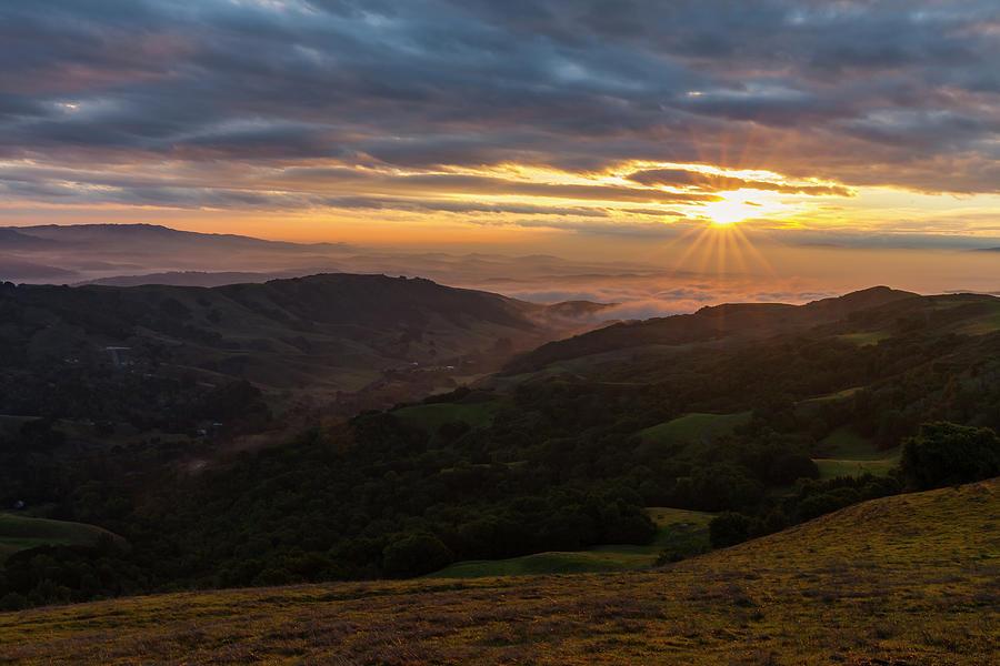 San Ramon Valley Sunrise by Rick Pisio