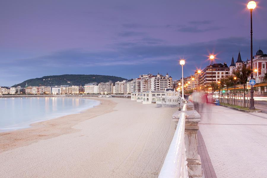 San Sebastian Photograph by Marcaux