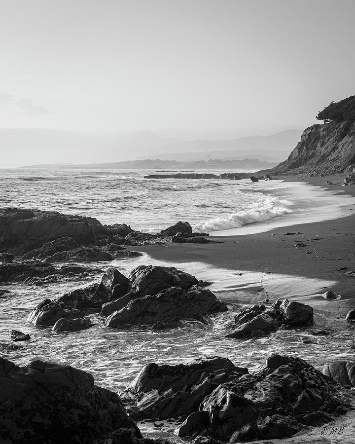 San Simeon Coastal V BW by David Gordon