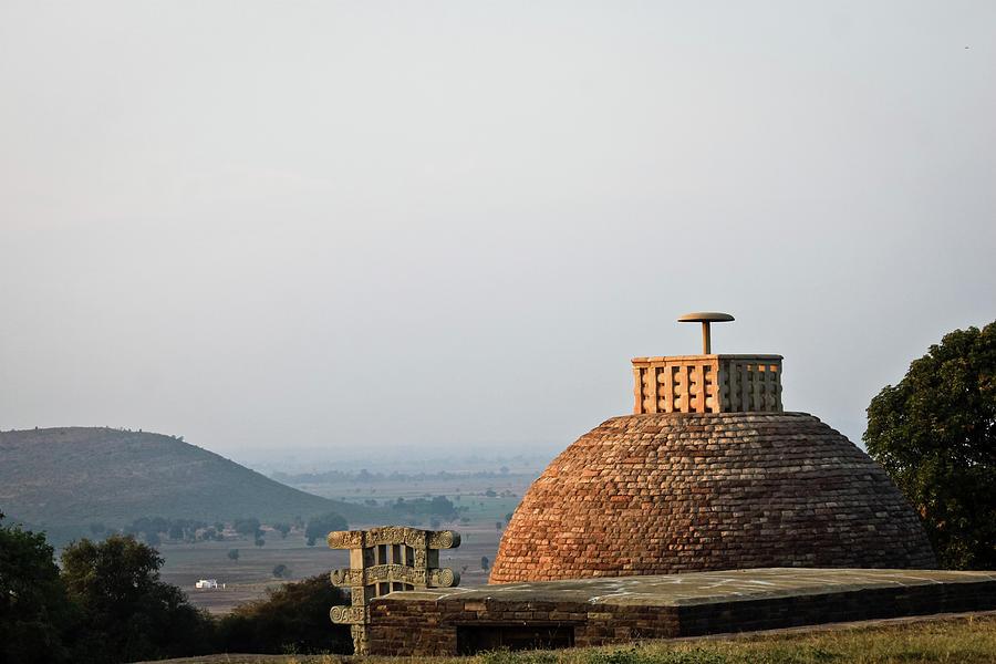 Sanchi Stupa By Photo By Jamyang Zangpo