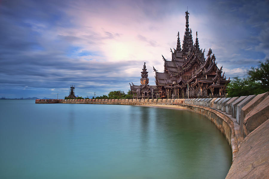Sanctuary Of Truth Photograph by Nutexzles