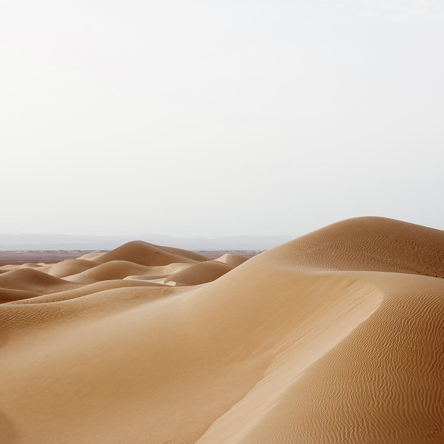 Sand Dunes In The Desert Photograph by Roine Magnusson