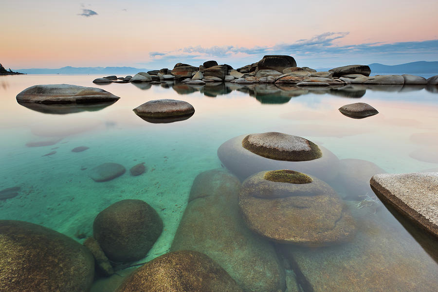 Sand Harbor In Lake Tahoe Photograph by Ropelato Photography; Earthscapes