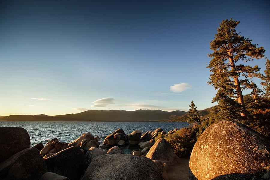 Sand Harbor State Beach, Lake Tahoe Photograph by Halbergman