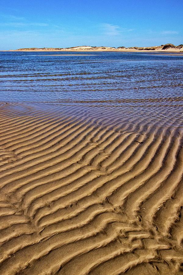Sand Textures at Cape Henlopen by Carolyn Derstine