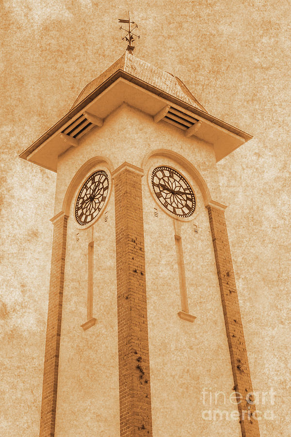 Tower Photograph - Sandgate Town Hall by Jorgo Photography - Wall Art Gallery