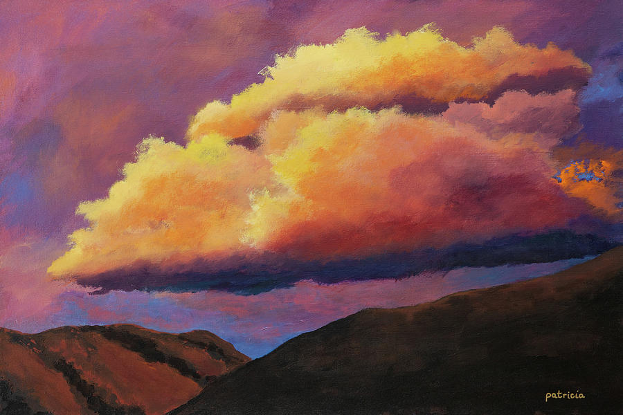 Sandia Sunset by Patricia Gould