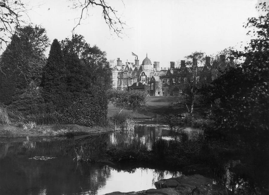 Sandringham House Photograph by Topical Press Agency