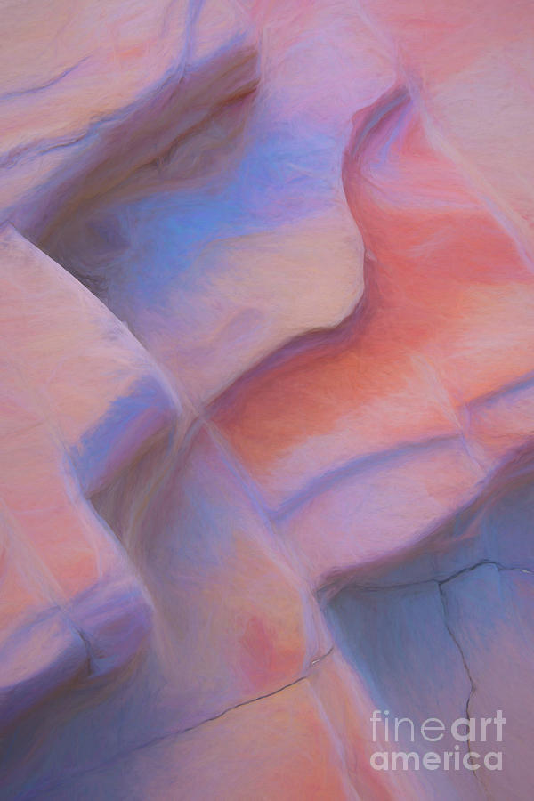Sandstone Cracks by Patti Schulze