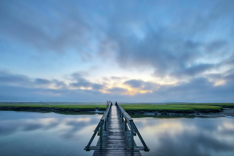 Sandwich Boardwalk Cape Cod by Juergen Roth