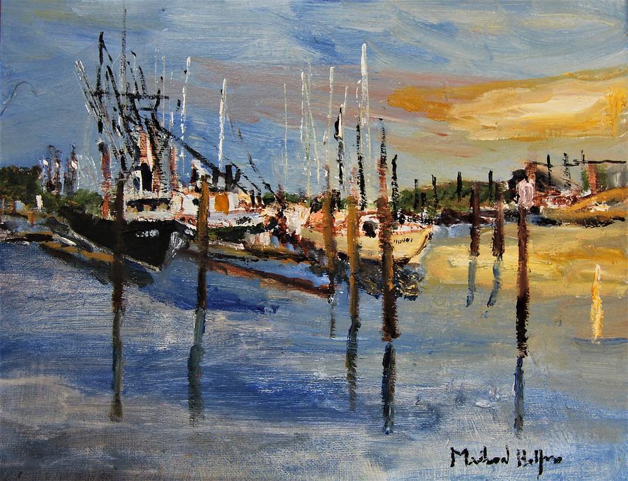 Sandwich Harbor by Michael Helfen
