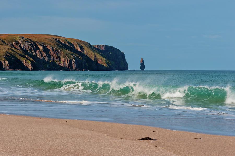Britain Photograph - Sandwood Bay, Sutherland by David Ross