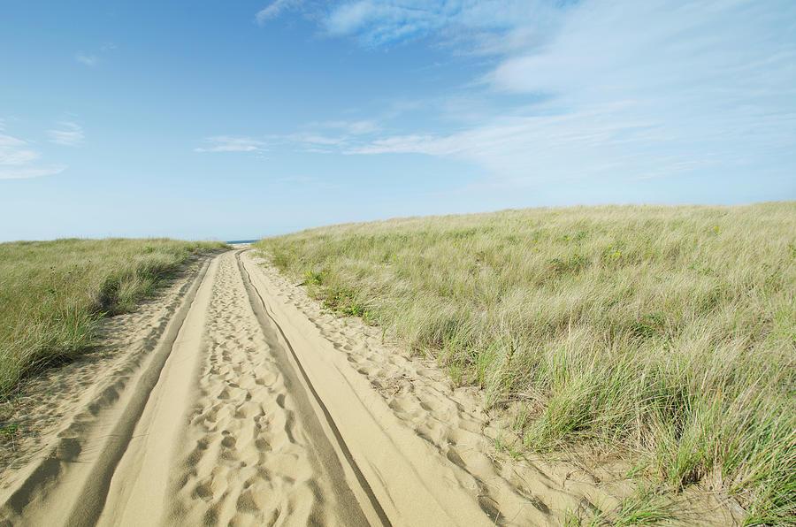 Sandy Beach Road Photograph by Nine Ok