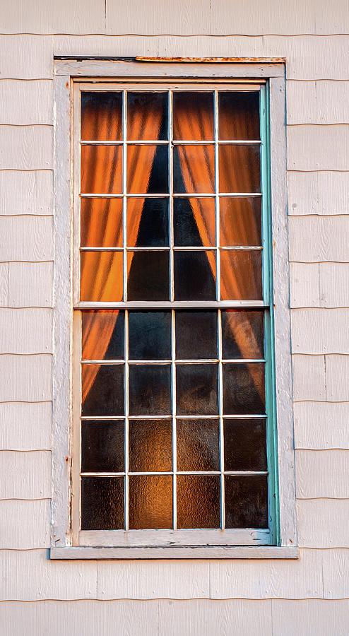 Sandy Hook Chapel Window by Gary Slawsky
