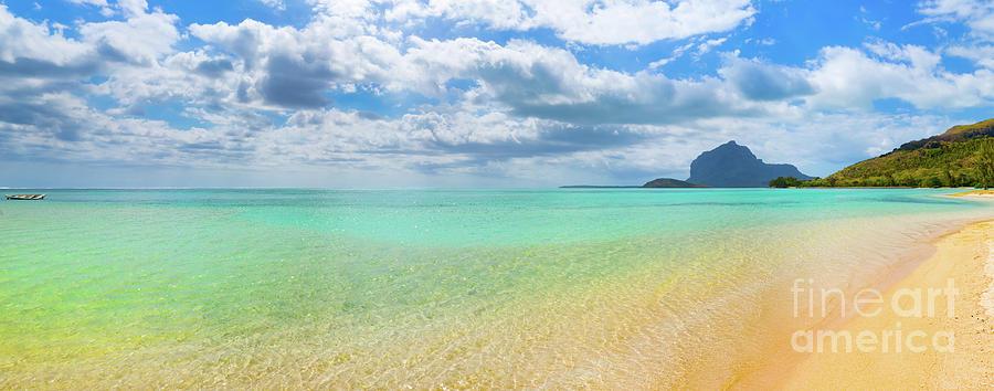 Sandy Tropical Beach Beautiful Landscape Panorama Photograph By Mothaibaphoto Prints